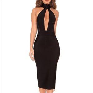 House of CB Black Bandage Alejandra Dress